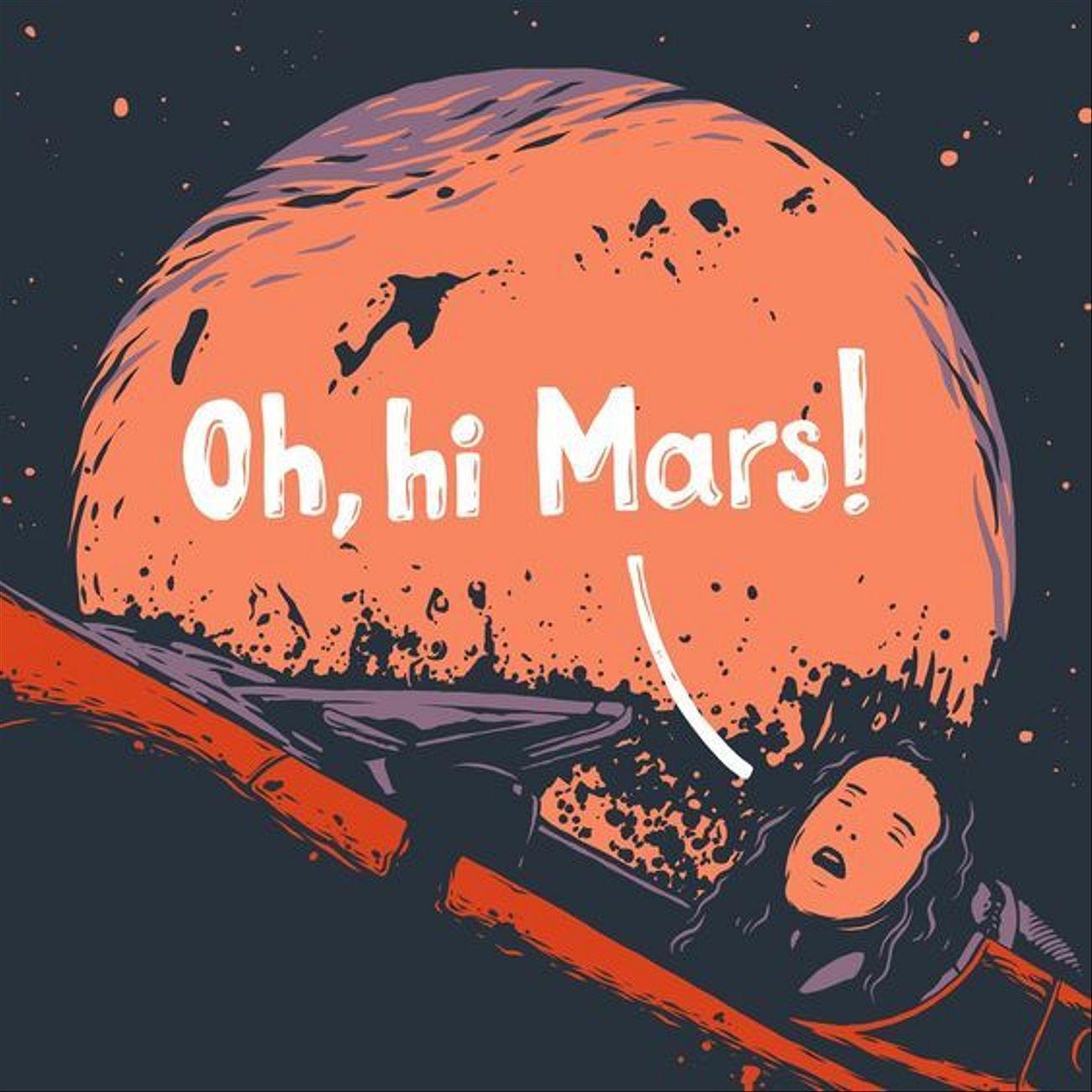 Oh, hi, Mars!
