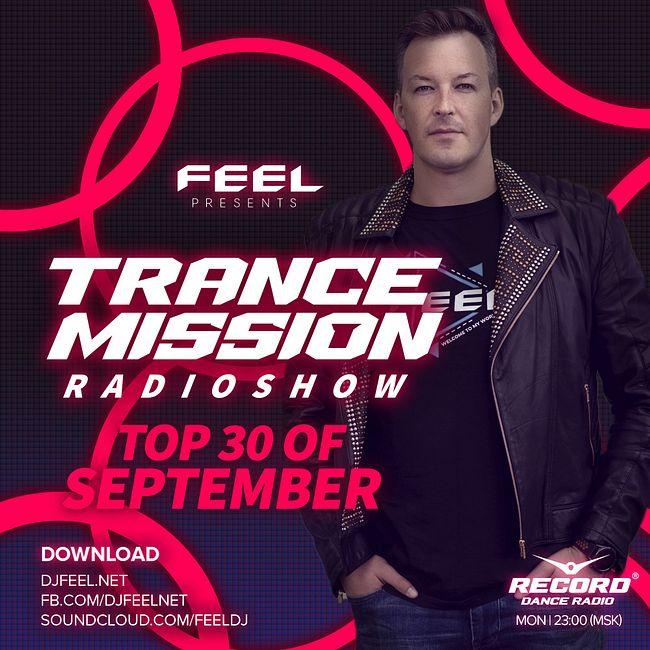 DJ FEEL - TOP 30 SEPTEMBER 2020 TRANCEMISSION (19-10-2020) #1020