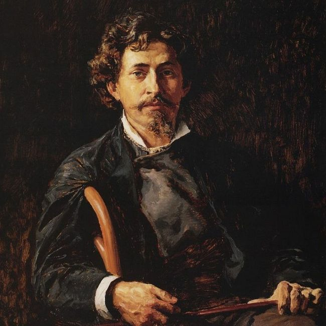История жизни Ильи Репина в его картинах