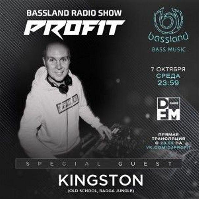 Bassland Show @ DFM (07.10.2020) - Special guest Kingston