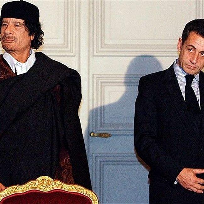 Саркози задержали за чемоданы денег от Каддафи