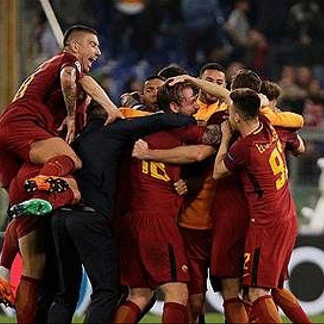 «Футбол непредсказуем». О триумфе «Ромы» в четвертьфинале Лиги чемпионов