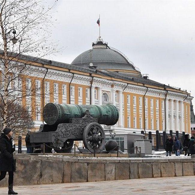 В Москву, в Кремль