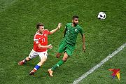 Россия разгромила Саудовскую Аравию в матче открытия ЧМ-2018 5:0