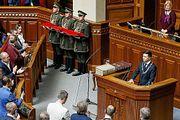 Темы дня : Зеленский пообещал вернуть Крым с Донбассом, распустил Верховную Раду и ни разу не сказал про Россию
