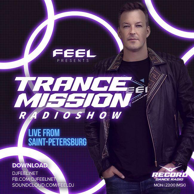 DJ FEEL - Trancemission incl Alexander Komarov Guest Mix (07-12-2020) #1026