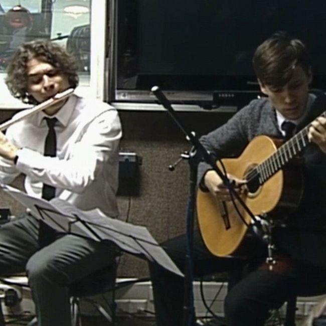 """Классическая музыка. Дуэт флейты и гитары на примере классической и современной музыки: """"Музыкальный десерт"""""""
