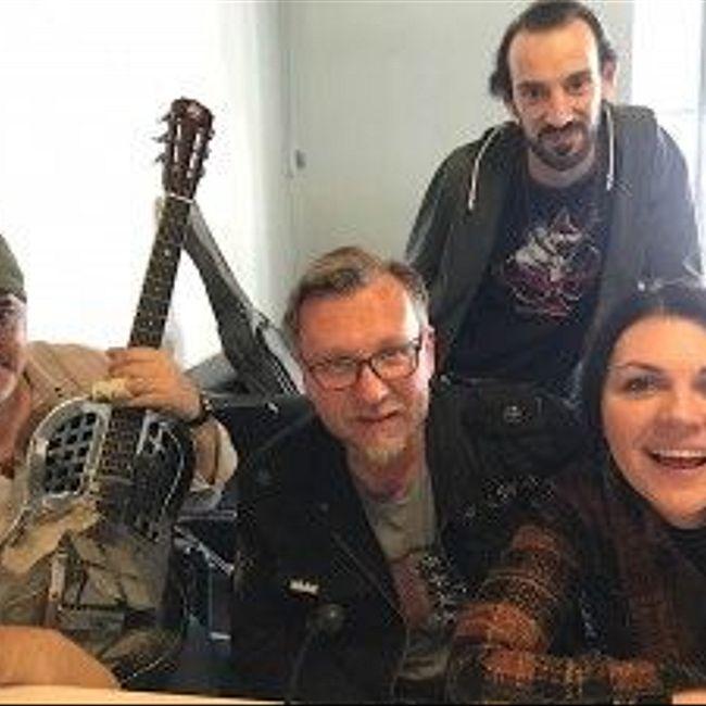 Blues Social Club - Ярослав Помогайкин, Мария Рубановская, Евгений Ламба, Александр Роджер на МОТОРАДИО