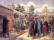 Зарождение Москвы
