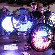 Световой тюнинг велосипеда