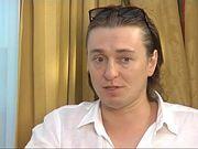 Безруков поет Гордону свою песню на стихи Есенина