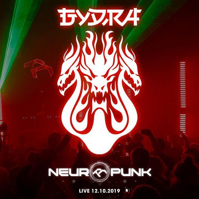 Gydra live Neuropunk Festval 12.10.19