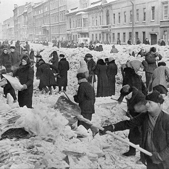 75 лет со дня снятия блокады Ленинграда