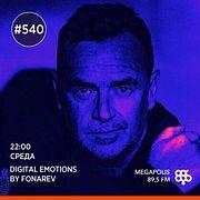 Fonarev - Digital Emotions # 540. Nick Warren - Epizode 3. Digital Emotions Night.
