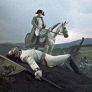 Лев Толстой. «Война и мир», Ранение князя Андрея при Аустерлицком сражении