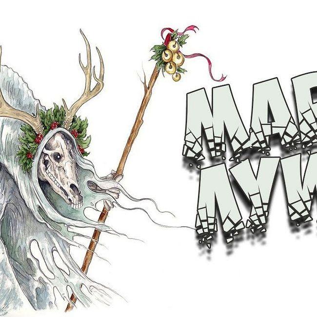 Новогодний бестиарий: Мари Луид - новогодний поэтический батл