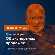 Выпуск №22 с Дмитрием Норка об экспертных продажах
