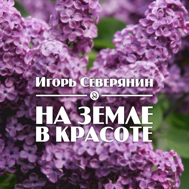 """Игорь Северянин """"На земле в красоте"""""""