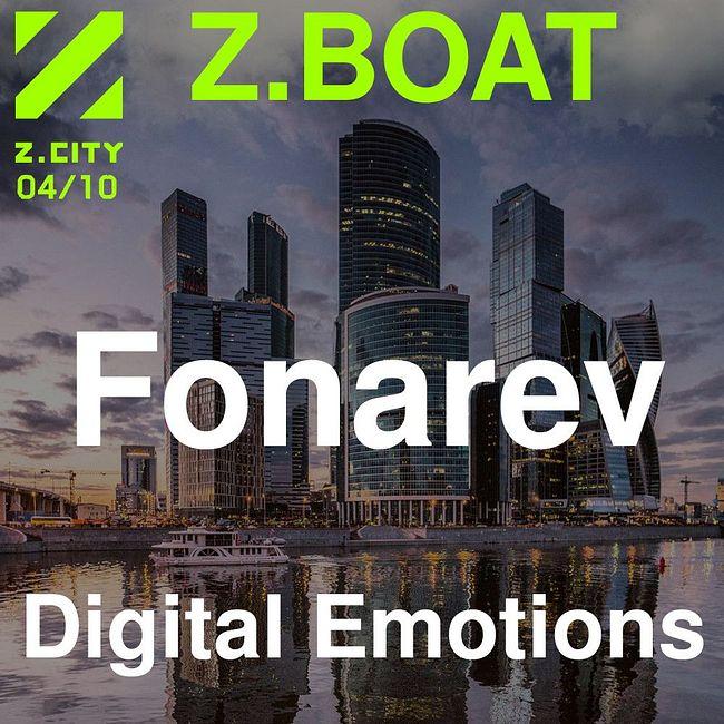 Fonarev - Digital Emotions Night. Z.BOAT 04.10.2019