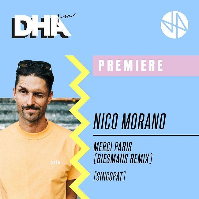 Premiere: Nico Morano - Merci Paris (Biesmans Remix) [Sincopat]