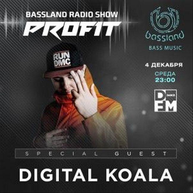 Bassland Show @ DFM (04.12.2019) - Special guest Digital Koala. Bass House, Dubstep, Drum&Bass