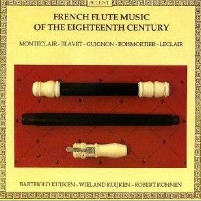 crypt 078 : French Flute Music of the 18th Century