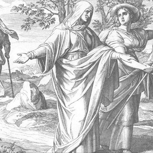 Ноеминь и Руфь