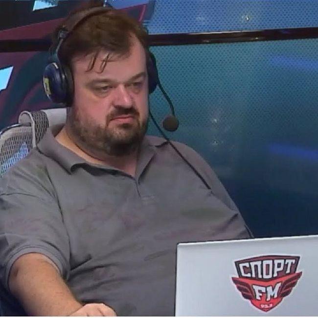 Василий Уткин на Спорт ФМ/ 100% Футбола/ 26.07.18
