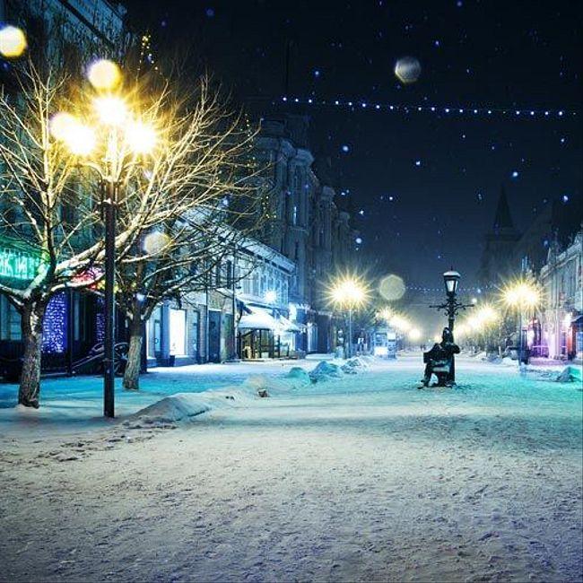 Зимний ночной этюд (Агира)