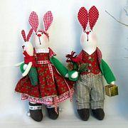 Рождественские зайцы (Ирина Станковская)