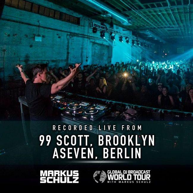 Global DJ Broadcast: Markus Schulz World Tour Brooklyn and Berlin (Mar 05 2020)