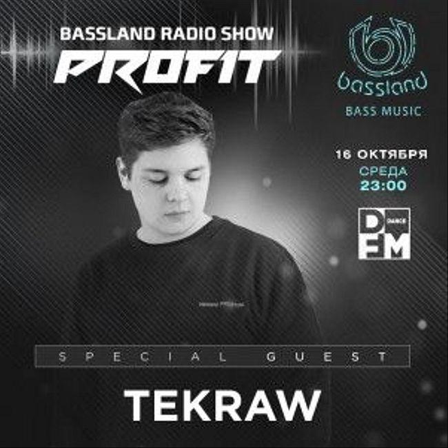 Bassland Show @ DFM (16.10.2019) - Special guest Tekraw. Bass House, Dubstep