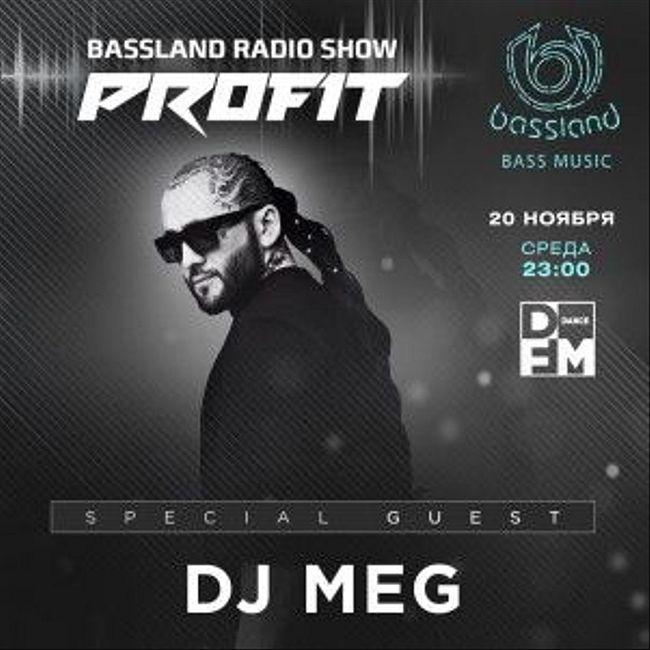 Bassland Show @ DFM (20.11.2019) - Special guest DJ Meg. Bass House, Breaks, Trap