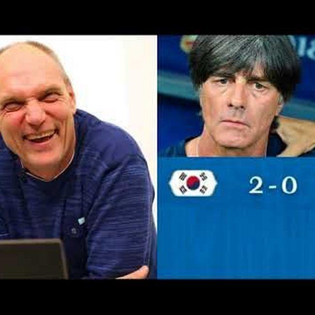 Реакция Александра Бубнова на итоги матча Южная Корея-Германия (2:0)