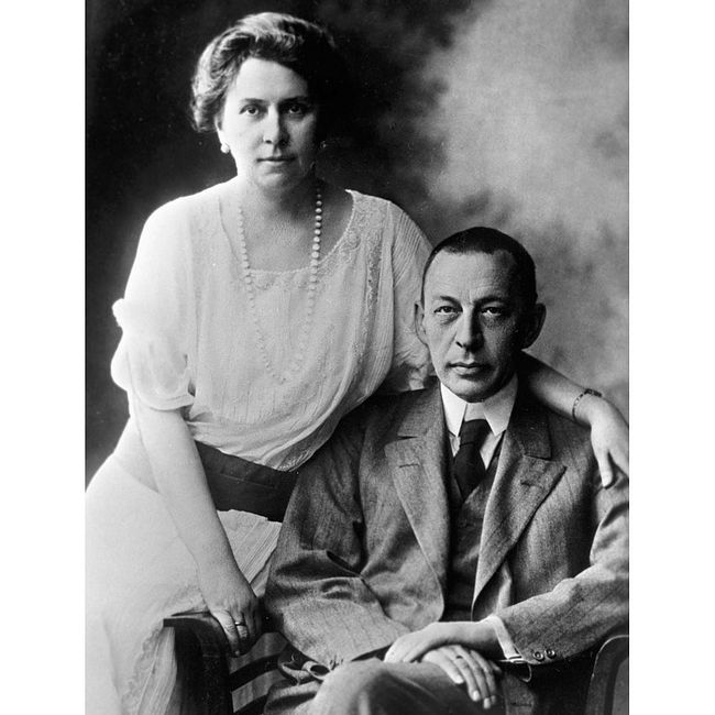 Семейные истории:  Сергей и Наталья Рахманиновы