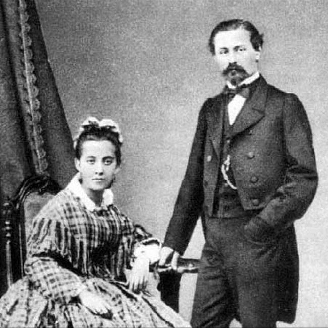 Семейные истории: Генри и Шарлотта Брокар