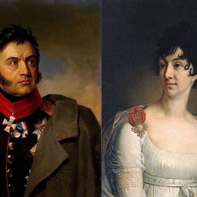 Семейные истории - Николай и Софья Раевские
