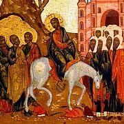Лк., XIX, 29-40; XXII, 7-39 (прот. Павел Великанов)