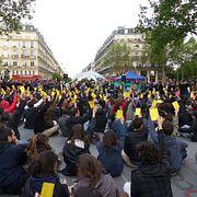 Протестные движения во Франции