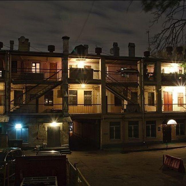 Московские дома с галереями