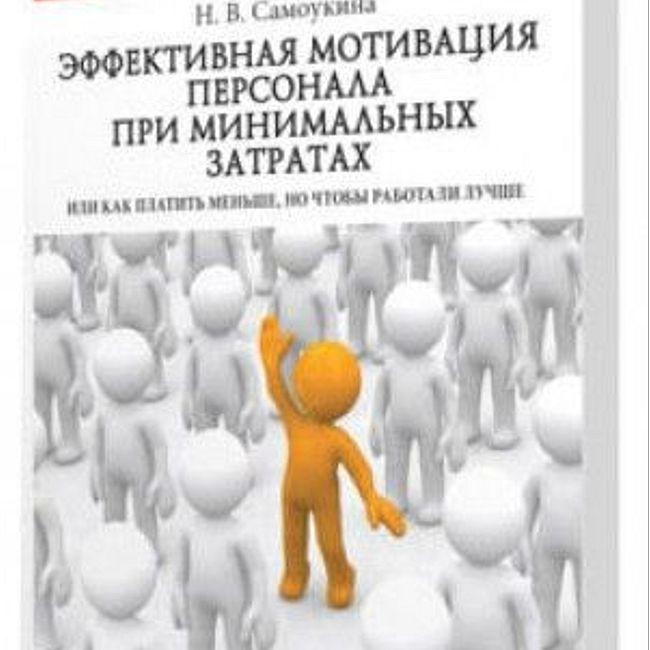 Книга Н. Самоукиной «Эффективная мотивация персонала при минимальных финансовых затратах»