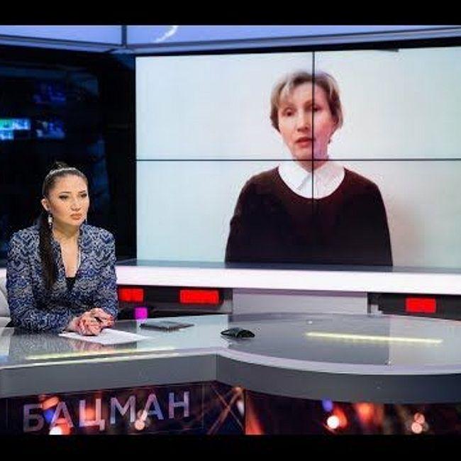 Марина Литвиненко в программе БАЦМАН (2018)