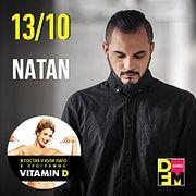 NATAN в гостях у Юли Паго #VITAMIND на #DFM 13/10/2017