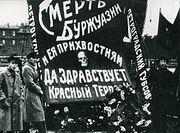 «Красный террор» как часть большевистского проекта