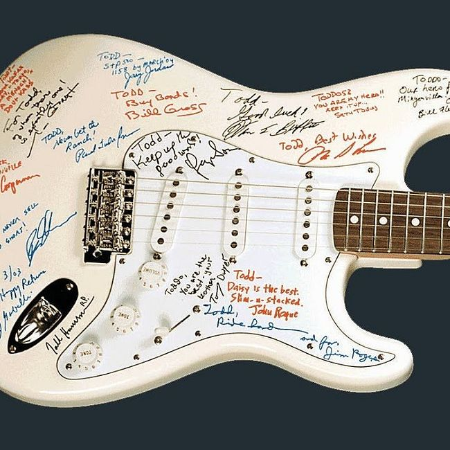 Самые известные гитары мира ! 1.