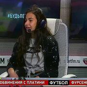 Флайбордистка Валерия Вершинина в гостях у Женского состава. 26.05.18