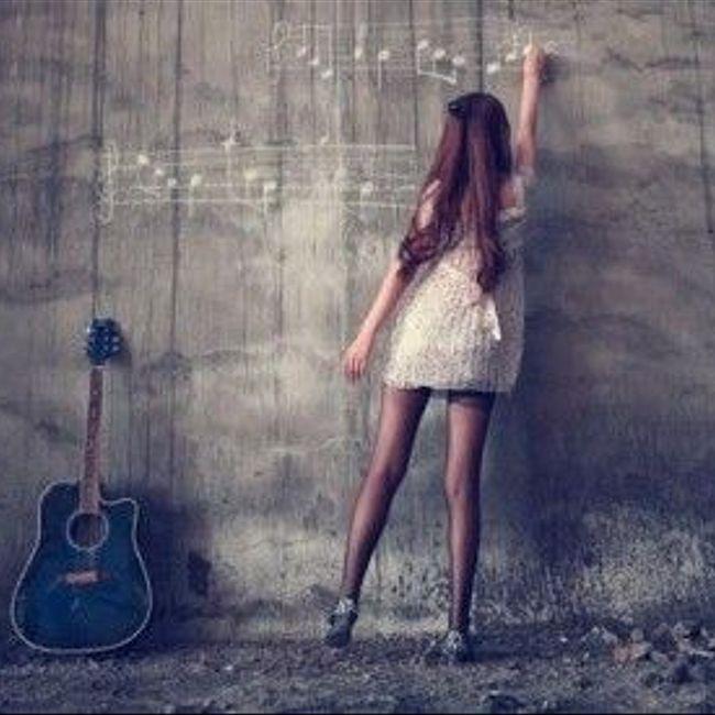 Случайный гость, девушка  с  гитарой!