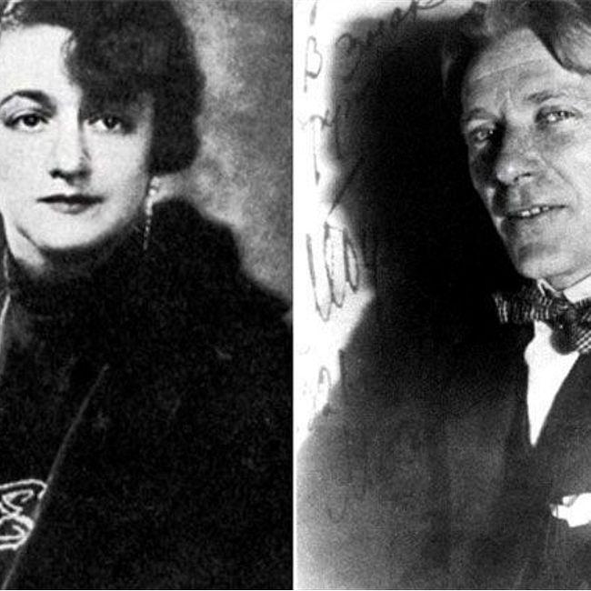 Михаил Булгаков и Елена Нюренберг