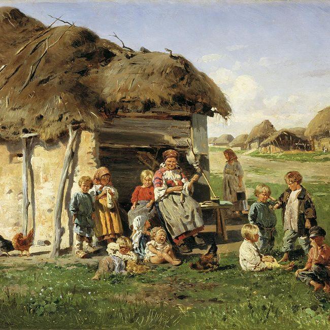 Жизнь российских крестьян доипосле реформы 1861 года (002)