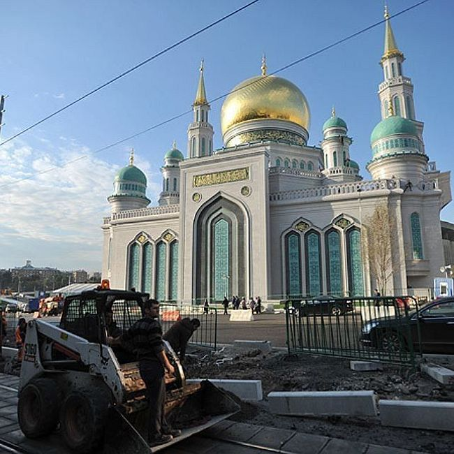 Мечеть на проспекте Мира